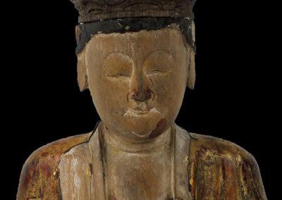 Ming Dynasty Giltwood Guanyin (2)