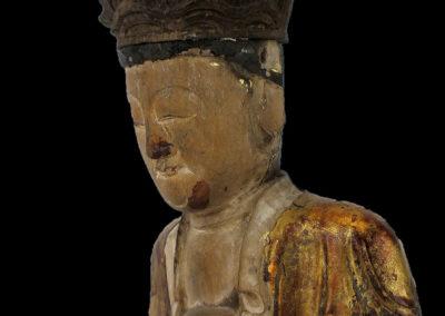 Ming Dynasty Giltwood Guanyin (3)