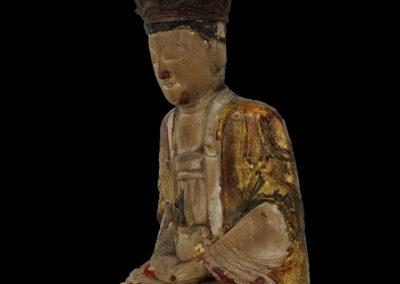Ming Dynasty Giltwood Guanyin (4)