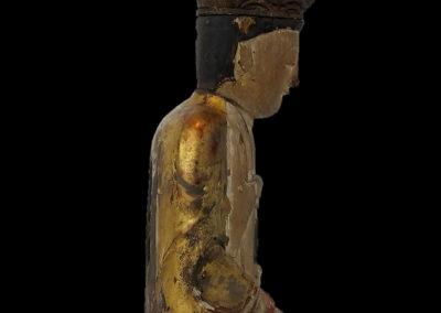 Ming Dynasty Giltwood Guanyin (6)