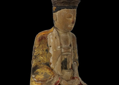 Ming Dynasty Giltwood Guanyin (7)