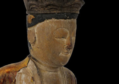Ming Dynasty Giltwood Guanyin (8)
