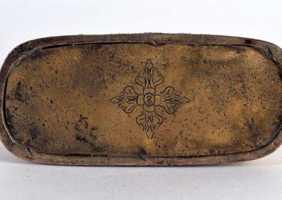 Sino Tibetan Gilt Bronze Dakini (3)