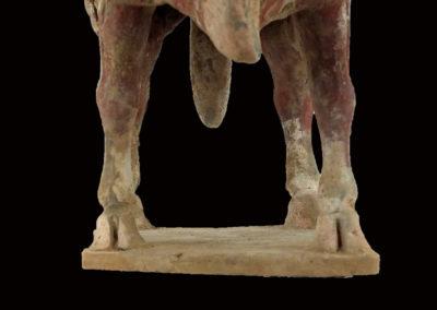 Large Impressive Pottery Ox (11)