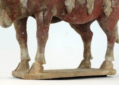 Large Impressive Pottery Ox (12)