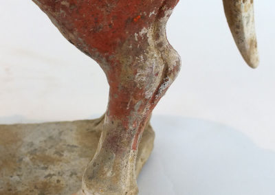 Large Impressive Pottery Ox (26)
