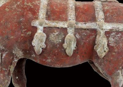 Large Impressive Pottery Ox (4)
