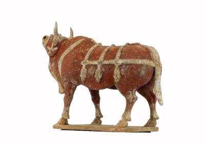 Large Impressive Pottery Ox (6)