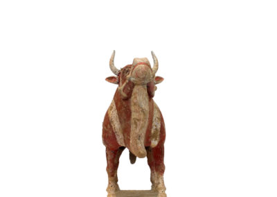 Large Outstanding Pottery Ox (10)