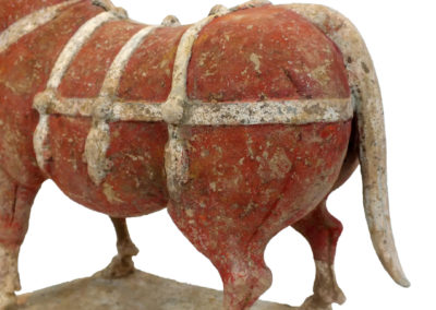 Large Outstanding Pottery Ox (20)
