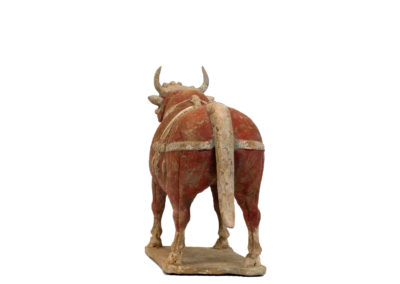 Large Outstanding Pottery Ox (7)