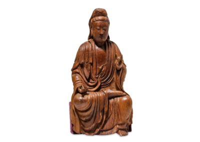 A Chinese Nanmu Guanyin Ming (1)