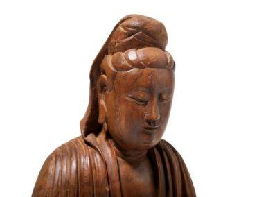 A Chinese Nanmu Guanyin Ming (3)