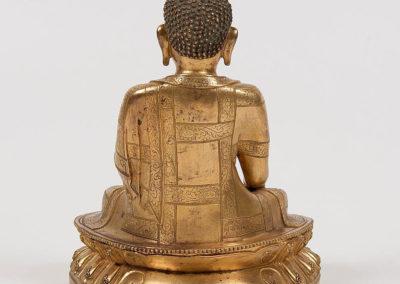 A Massive Gilt-Bronze Shakyamuni Buddha (2)