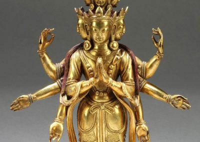 Superb Gild Bronze Avalokitesvara (1)