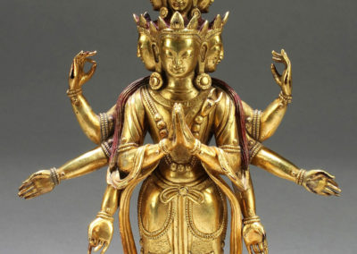 Superb Gild Bronze Avalokitesvara (1)