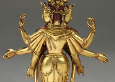 Superb Gild Bronze Avalokitesvara (3)