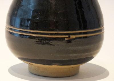 Brown-Glazed Pear Shaped Bottle Vase (11)