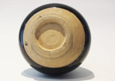 Brown-Glazed Pear Shaped Bottle Vase (13)