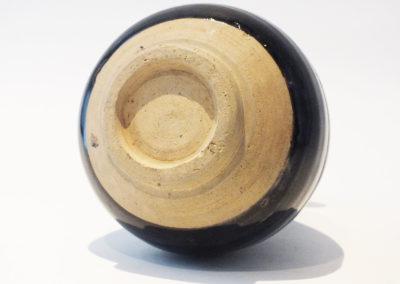 Brown-Glazed Pear Shaped Bottle Vase (14)