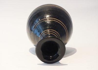 Brown-Glazed Pear Shaped Bottle Vase (17)