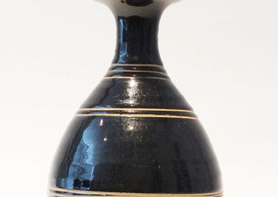 Brown-Glazed Pear Shaped Bottle Vase (4)