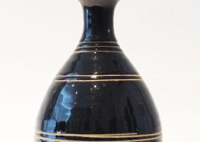 Brown-Glazed Pear Shaped Bottle Vase (5)