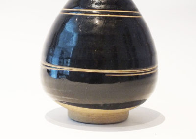 Brown-Glazed Pear Shaped Bottle Vase (6)