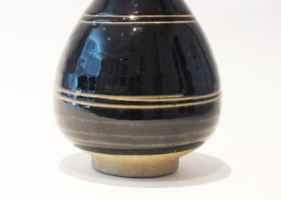 Brown-Glazed Pear Shaped Bottle Vase (7)
