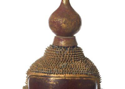 Large Burmese Gilt Lacquered Buddha (6)