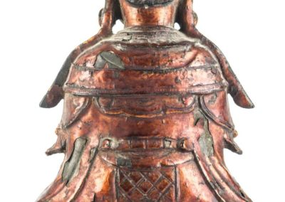 Large Gilt Bronze Figure of Xiwangmu (15)