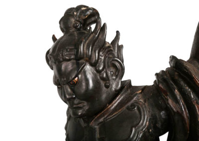 Superb Japanese Guardian Deity Zochoten (2)