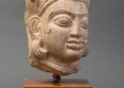 Buff Sandstone Head of a Goddess (2)