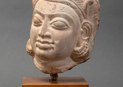 Buff Sandstone Head of a Goddess (3)