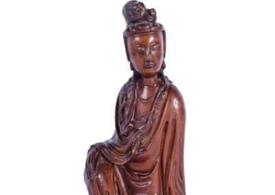 Fine Chinese Boxwood Guanyin (1)