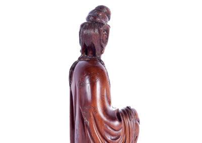 Fine Chinese Boxwood Guanyin (2)