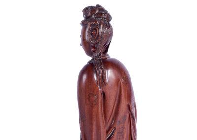 Fine Chinese Boxwood Guanyin (3)
