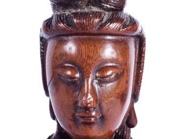 Fine Chinese Boxwood Guanyin (4)