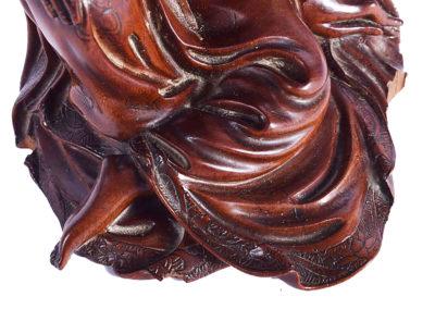 Fine Chinese Boxwood Guanyin (6)