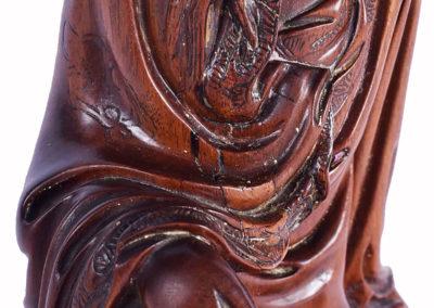 Fine Chinese Boxwood Guanyin (7)