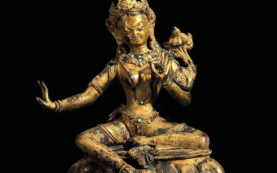 Gilt Bronze Padmapani Nepal