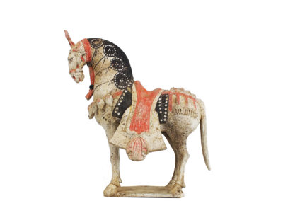Large Standing Caparisoned Horse (1)