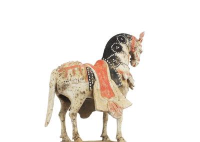 Large Standing Caparisoned Horse (10)