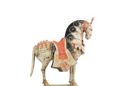 Large Standing Caparisoned Horse (11)