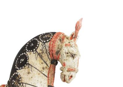 Large Standing Caparisoned Horse (12)