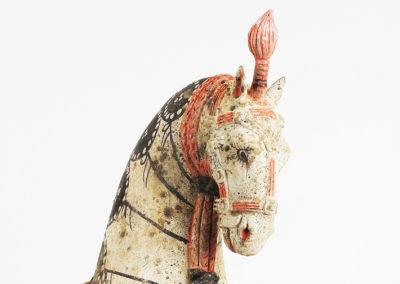 Large Standing Caparisoned Horse (13)