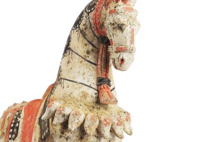 Large Standing Caparisoned Horse (14)