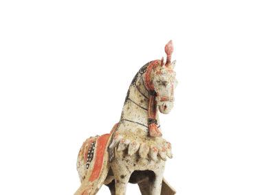 Large Standing Caparisoned Horse (15)