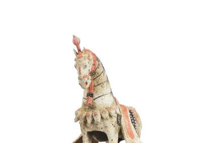 Large Standing Caparisoned Horse (17)