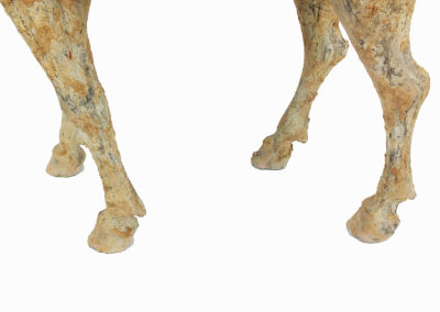 Rare Pottery Striding Horse (1)